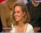 "Gluk'оZa in the program ""On Air Live"" on the ""Russia 1"" channel. March 6th, 2017"